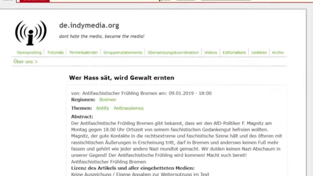 ANGRIFF AUF AFD-MANN: Angebliches Antifa-Bekennerschreiben aufgetaucht