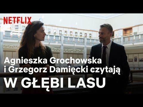 """Agnieszka Grochowska i Grzegorz Damięcki czytają fragmenty """"W głębi lasu"""""""