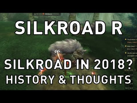 Silkroad R - SIlkroad in 2018? History & Thoughts