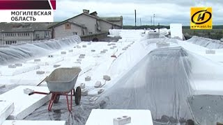 В Славгороде в сезон дождей  затоплено несколько квартир