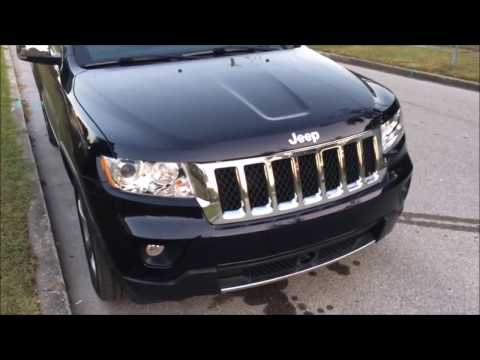 Jeep Grand Cherokee 2011-2013 How to Change the Daytime Running Light (Passenger Side)