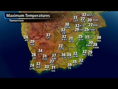 SA #Weather forecast   12 March 2018