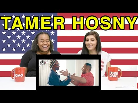 "Americans React to Tamer Hosny ""Si Al Sayed"""
