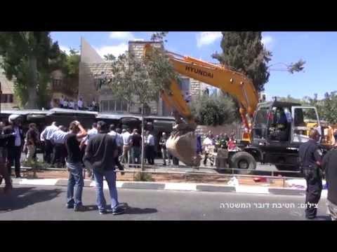 פיגוע דריסה בירושלים - שוטרים נטרלו את המחבל