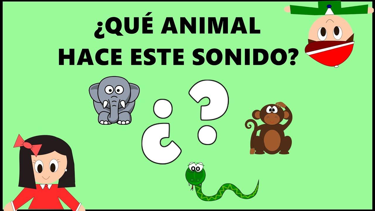 Adivinanzas para niños - ¿Qué animal hace este sonido