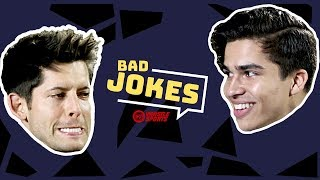 Alex Aiono vs. Hunter March | Bad Joke Telling