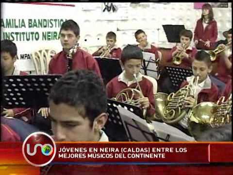 Jóvenes de Neira, Caldas, entre los mejores músicos del continente