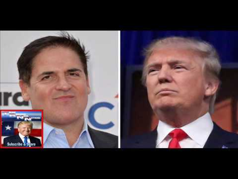 Clinton Supporter Mark Cuban Changes His Tune About Trump