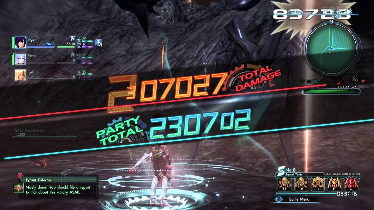 Xenoblade Chronicles X Photon Saber Dual Guns Build Ether Youtube