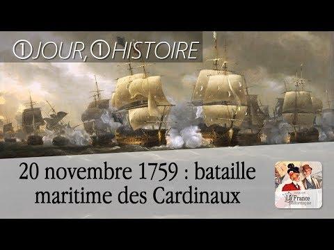 20 novembre 1759 : bataille maritime des Cardinaux