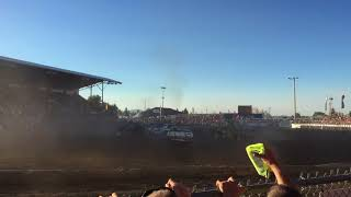 2017 North Idaho fair demo derby heat 1