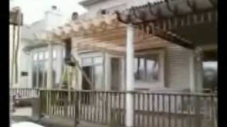 Cedar Pergola Addition Video Lombard Illinois - Glen Ellyn, Naperville
