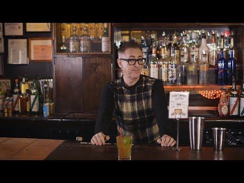 Alan Cumming's Mixology Class: The Wild ginger