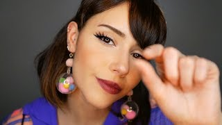 ASMR - Let me Pluck & Tap Your Worries Away ~ (fabric, whisper…