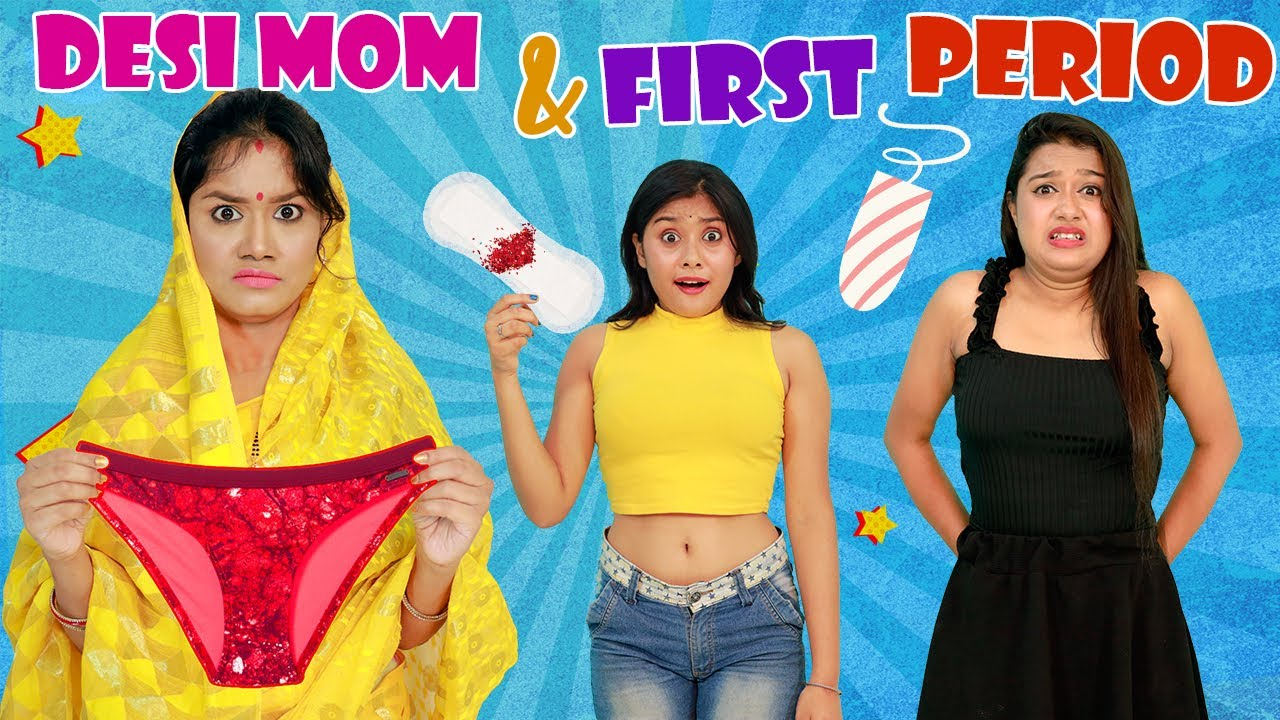 DESI MOM and FIRST PERIOD - Episode 2   Life Saving PERIOD HACKS