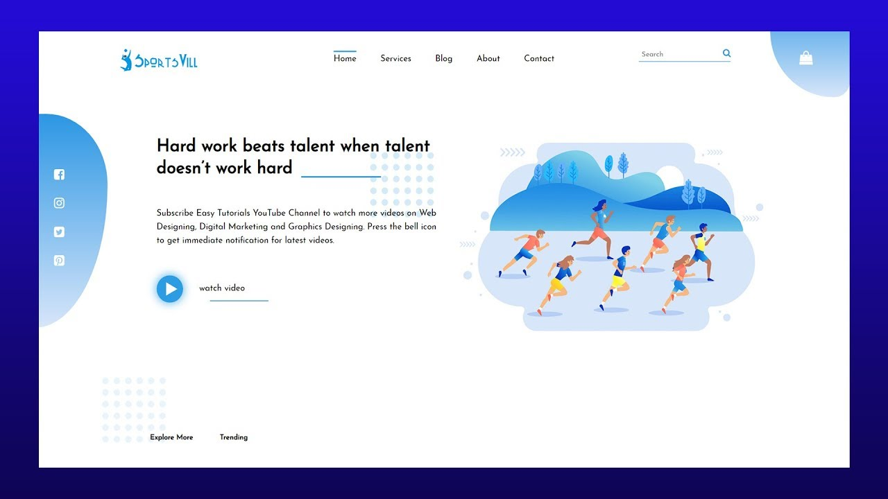 How To Make A Website Using HTML And CSS Step By Step   Latest Website Design