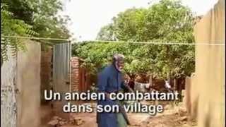 Ancien combattant dans son village