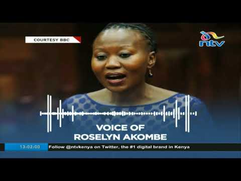 IEBC Commissioner Dr. Roselyne Akombe resigns saying Commission under siege