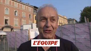 Maillot «Le travail a payé» - Cyclisme - T. de Lombardie