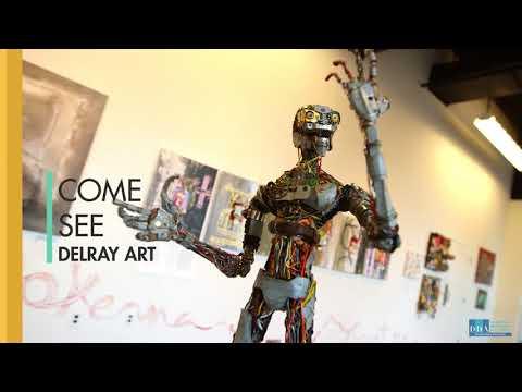 First Friday Art Walk   Downtown Delray Beach