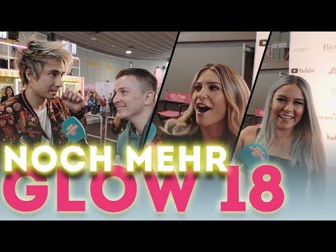 NOCH MEHR GLOW 2018 !!! | Dagi Bee, Julien Bam, Mrs Bella