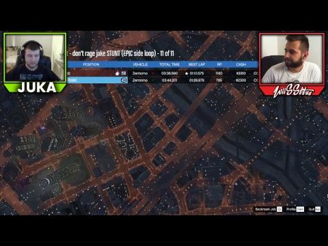 Amir vs. Juka - Live do Sabaha - GTA 5 RAGE 2 TRKE!!!