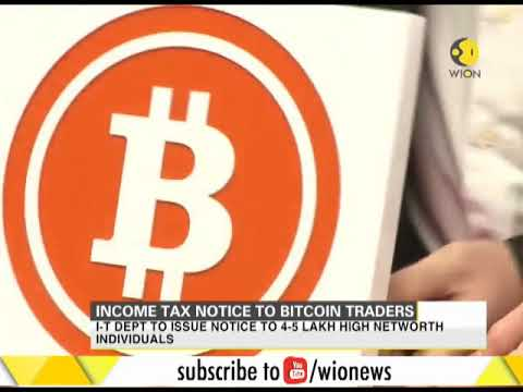 Income Tax notice to bitcoin traders