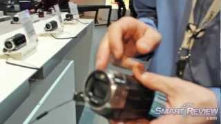 CES 2013: Panasonic HC-V720 HD Camcorder | Built in WiFi Wireless Streaming | HCV720