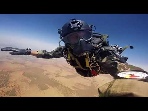 Embraer KC-390 Paratrooper Airdrop Test Flight