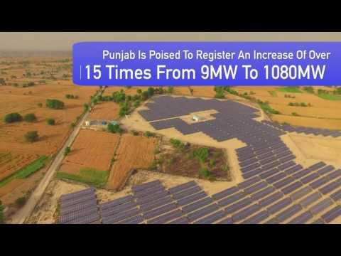 Bikram Singh Majithia leads Green Energy Revolution in Punjab.
