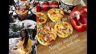 DailyVlog #39: NEPATIKĖSIT / naujas receptas