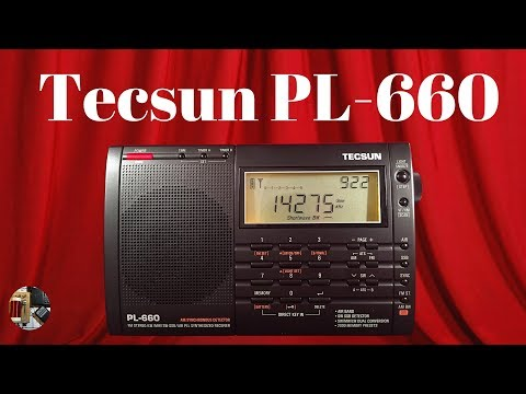 Tecsun PL-660 AM FM Shortwave SSB AIR & LW Portable Radio Review