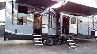 2019 XLR Thunderbolt 382AMP Toy Hauler Fifth Wheel 008
