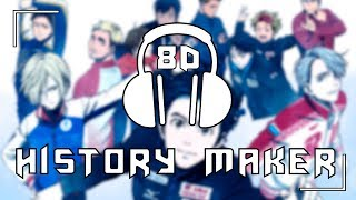 Download Lagu Yuri!!! on Ice [OP] - History Maker/Dean Fujioka | 8D AUDIO mp3