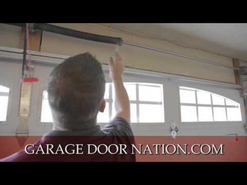 fix lubricate to garage door how diy a repair blog noisy