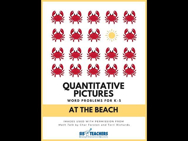 Quantitative Pictures: At the Beach