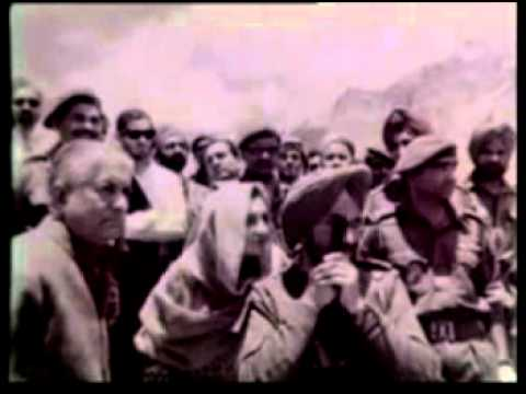 HISTORY OF HIMACHAL :  INDIRA GANDHI AND YS PARMAR VIDEO