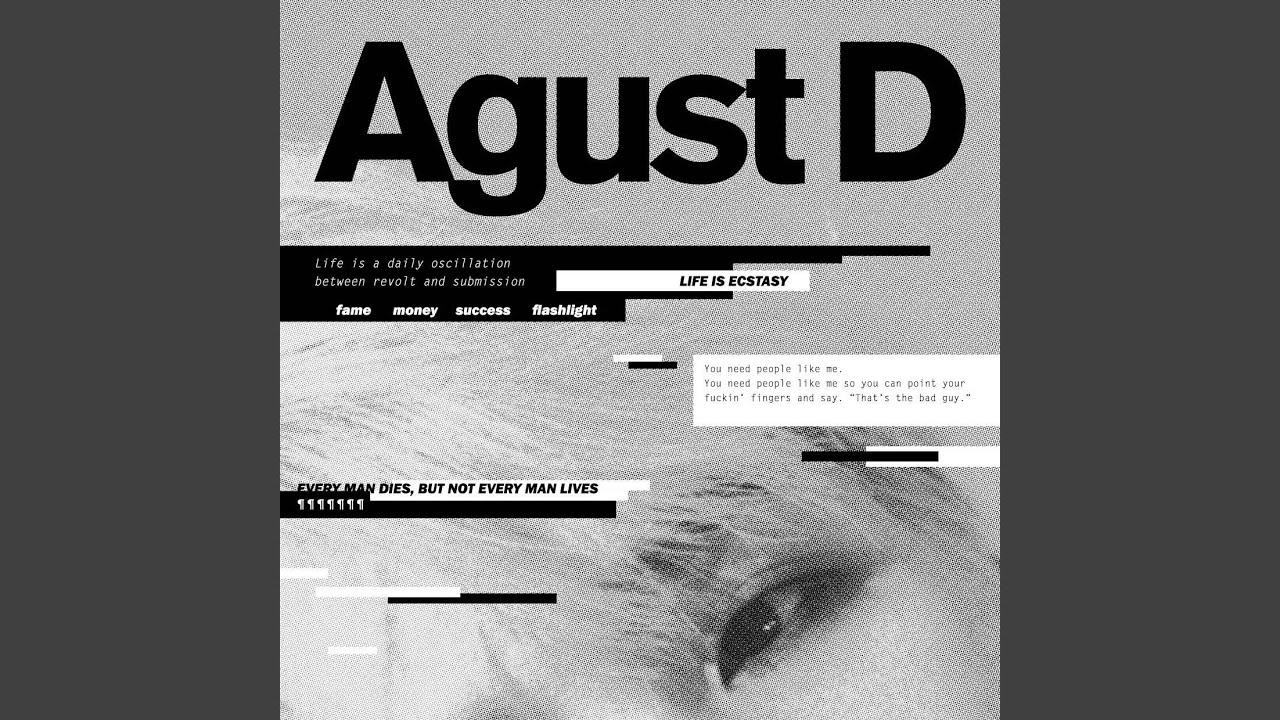 Agust D Youtube
