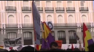 Españoles piden abolir monarquía