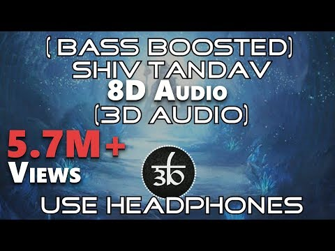 3D Audio | Shiv Tandav Stotram | Bass Boosted | Shankar Mahadevan | Virtual 3D Audio | HQ