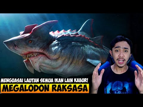 JADI MEGALODON RAKSASA PENGUASA LAUTAN - FEED AND GROW FISH INDONESIA #30 - 동영상