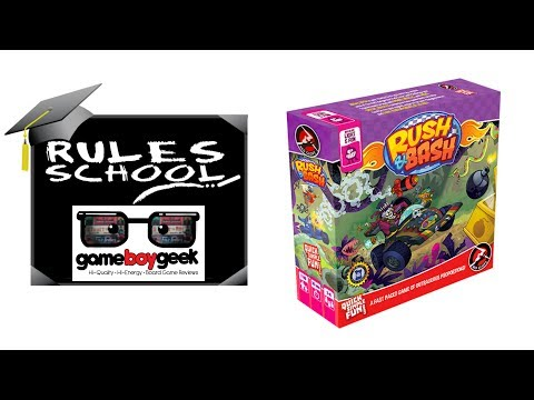How to Play Rush and Bash Rules School with the Game Boy Geek