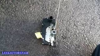 2007-2014 Chevy Suburban Rear Door Lock Actuator Replacement