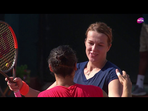 2017 Rabat Final | Anastasia Pavlyuchenkova vs Francesca Schiavone | WTA Highlights