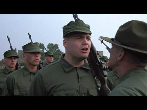 """Full Metal Jacket (1987) - """"What side was that Private Pyle!?"""""""