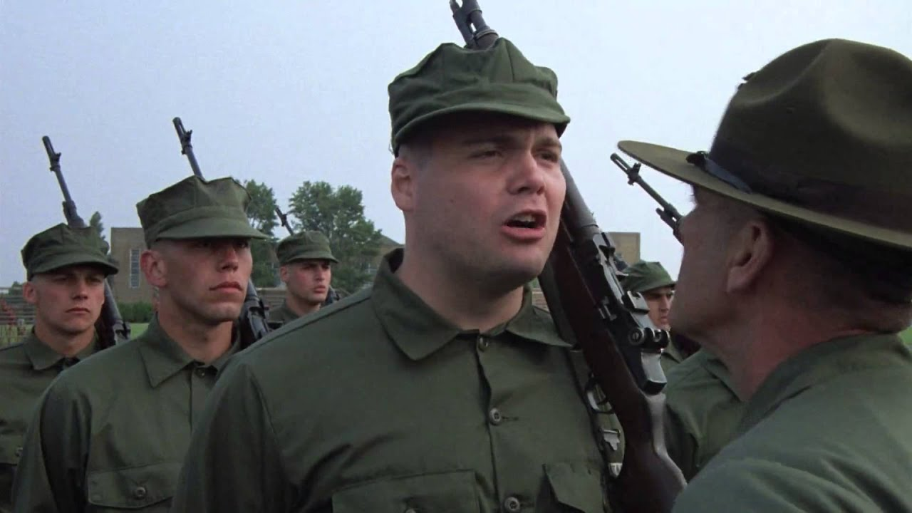 Full Metal Jacket 1987 What Side Was That Private