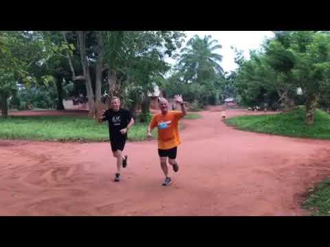 Global 6K running in Congo