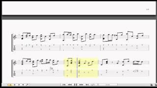 Chuyện (Thùy Chi) guitar solo tab