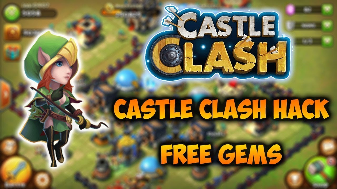 Castle Clash Hack Cheats How To Hack Castle Clash Free Gems Pc Android Ios Youtube