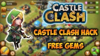 Castle Clash Hack Cheats | How to Hack Castle Clash Free Gems (PC Android iOS)